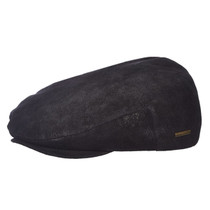 996655bce5b Stetson - Weathered Ivy Cap in Black