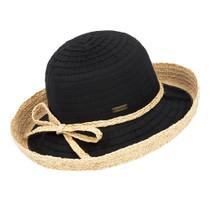 5c6bf9096c85fd Sun 'N' Sand - Akira Ribbon Straw Hat - Black