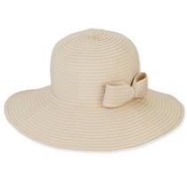 93e21f54ade Sun  N  Sand - Foldable Ribbon Sun Hat in Natural
