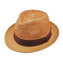 Henschel - Crochet Panama Fedora in Wheat - Full View 459acdcf55c3