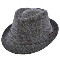 cf9249999e0 Stetson - Authentic Italian Wool Fedora in Grey - Full