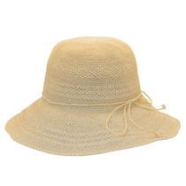 1a18dca465420d Sun 'N' Sand - Premium Raffia Wide Brim Cloche Hat - Back
