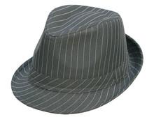 d3a7a14369589 Kenny K - Pinstripe Fedora Hat