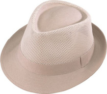 2905086d3f9 Henschel Hat Co. - Mesh Natural Fedora Hat
