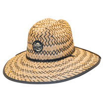 6f089726f6962 Kooringal - Black Burleigh Surf Straw Lifeguard Hat -