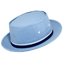 2406ba4fb36 Dorfman Pacific - Roll up Bucket Hat - Light Blue