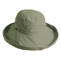 b1822603acb Scala - Small Brim Natural Olive Bucket Hat
