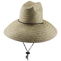 5d288d04e13a3 Dorfman Pacific - Palm Lifeguard Straw Sun Hat Natural