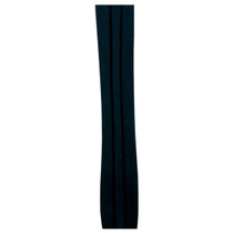 c137749b3f9 Kenny K - Black Triple Pleat Plain Hat Band