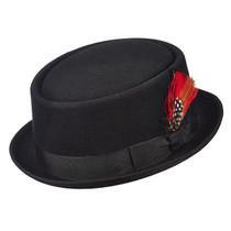 2897b0f48634f Scala - Wool Felt Porkpie Hat