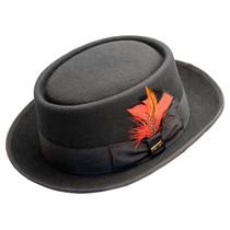 170c7fe34f1257 Scala - Jazz Porkpie Wool Felt Hat - · Choose Options