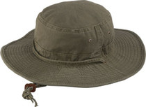 Henschel - Washed Boonie Hat Olive c02ec3a8857
