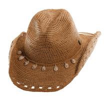 cc3cbb072c72a Tommy Bahama - Crocheted Raffia Cowboy Hat