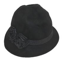 aadb09de60f Jeanne Simmons - Wool Felt Wrinkled Cloche Hat