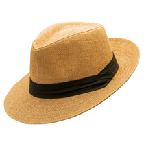 560d246a4152 Jeanne Simmons - Toyo Large Brim Fedora - Tan