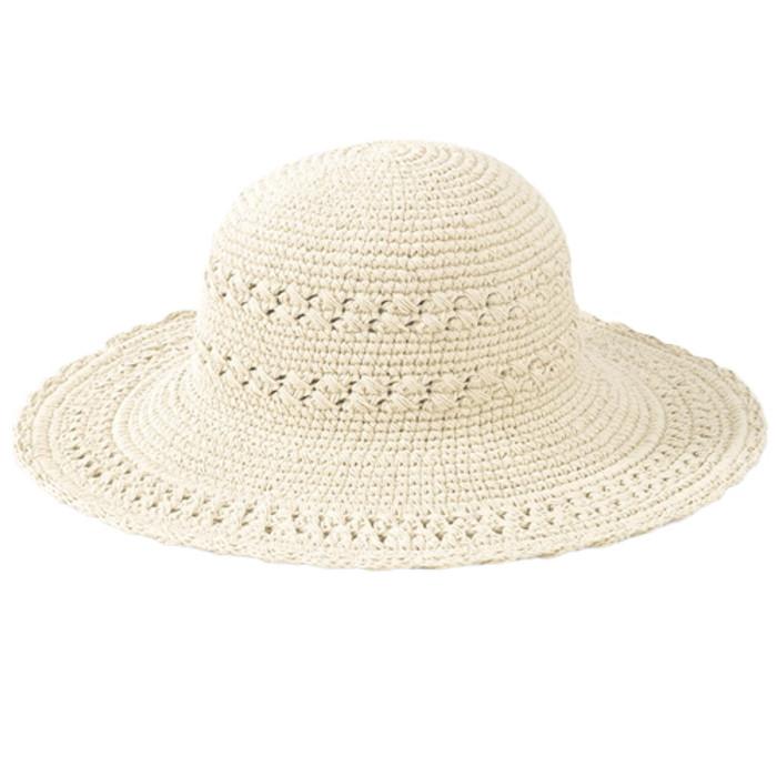 b9525e80 San Diego Hat Company. San Diego Hat Company - Cotton Crochet Mid Brim Sun  Hat