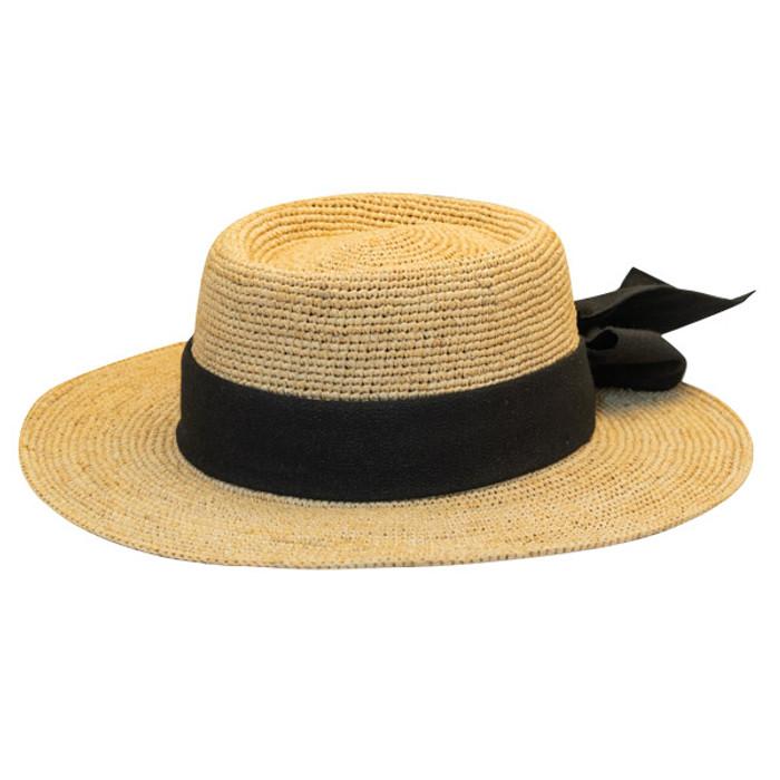 0a51ff59ec843 Previous. Scala - Manarola Raffia Gambler Hat ...