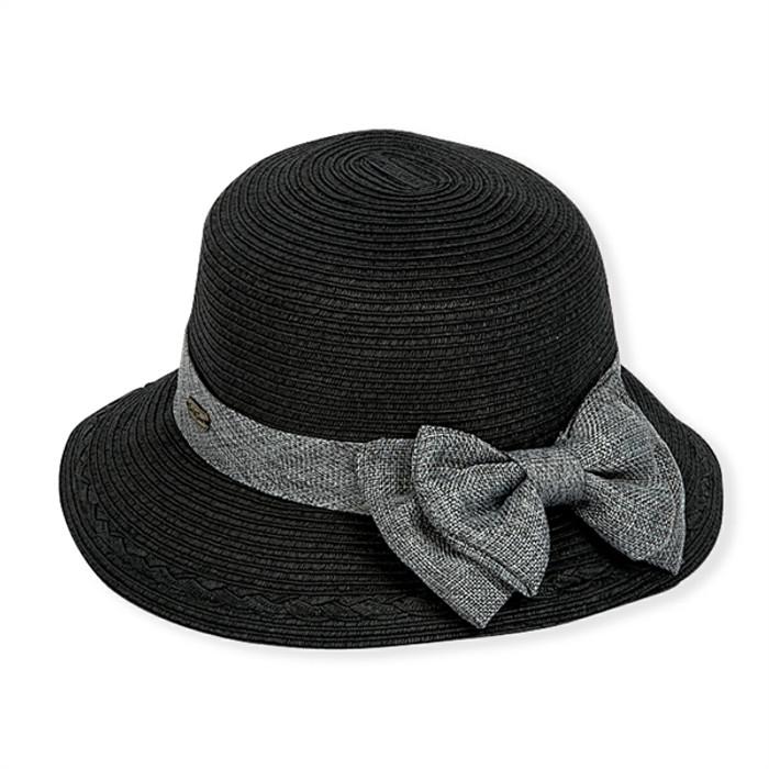 965ab3572e2494 Sun N Sand | Gia Paper Braid Cloche Hat | Hats Unlimited
