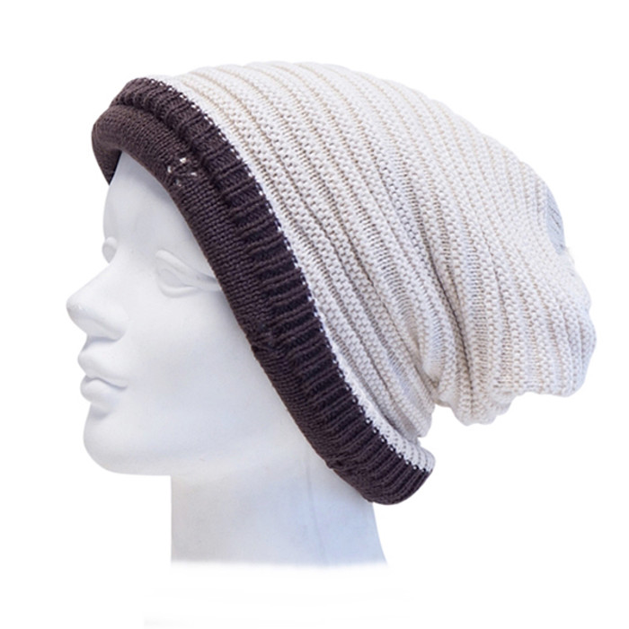 b35cff86c Downtown Style - Reversible Winter Beanie Hat