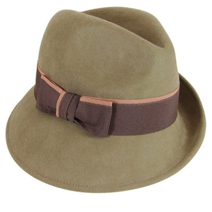 7623a63789b Downtown Style. Downtown style - Asymmetrical Wool Felt Fedora Hat