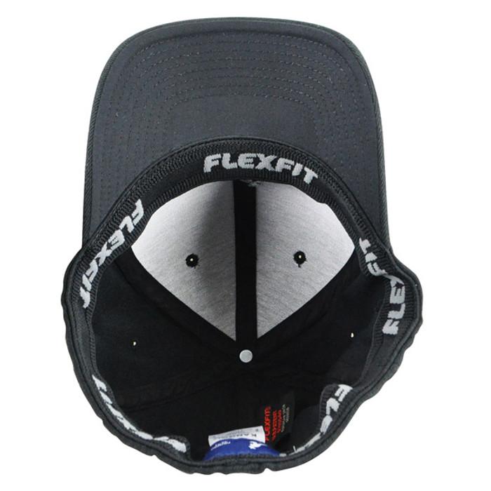 1e37f73a1499a Kangol -Black Wool Flexfit Baseball Hat Under