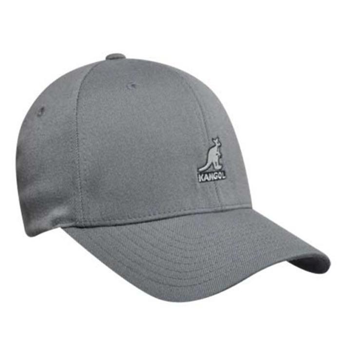 d03d696b1b8 Kangol - Charcoal Wool Flexfit Baseball Hat