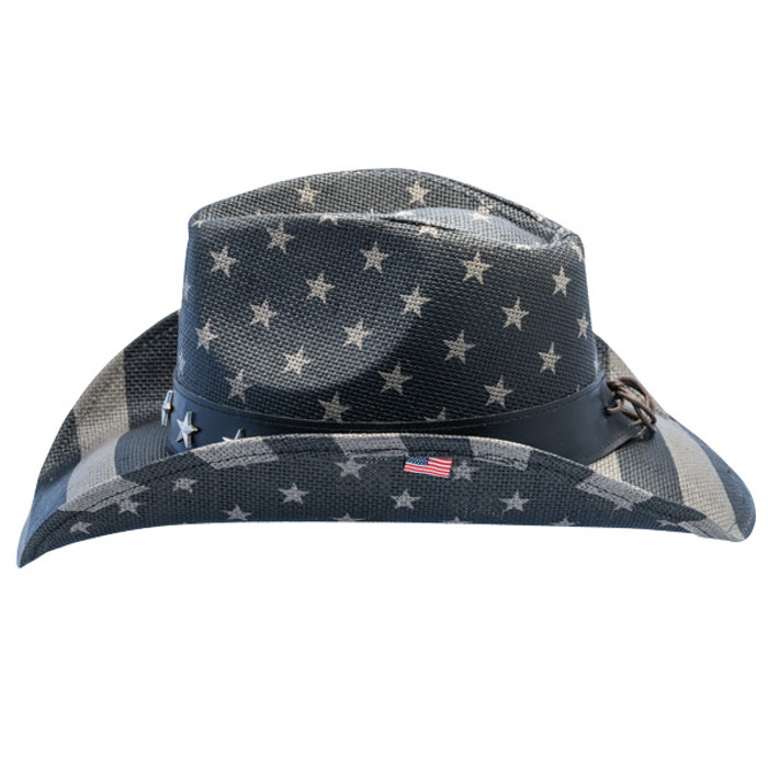 780a018af California Hat Company - Freedom Star American Flag Cowboy Hat