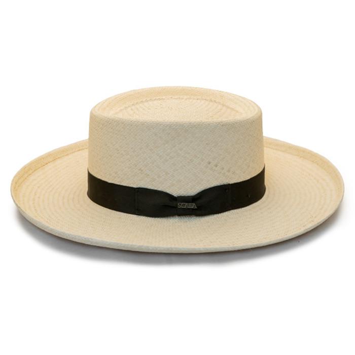 aa9224bfa7dbd Scala - Masa Big Brim Grade 3 Gambler Panama Hat - Side