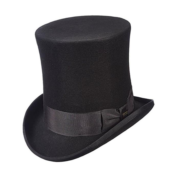 Dorfman Pacific - Tall Top Hat - Full View fc77c971d1b