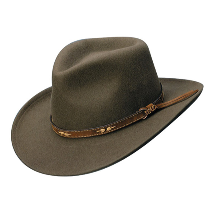 Scala. Scala - Crushable Wool Outback Hat b4ead333575