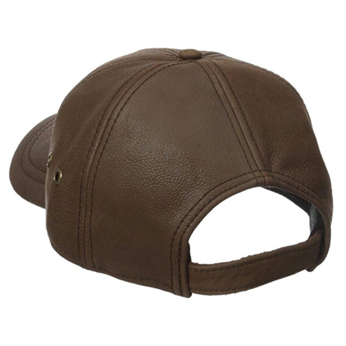 adfc175bf9945 Stetson Hats. Stetson - Oily Timber Leather Baseball Cap