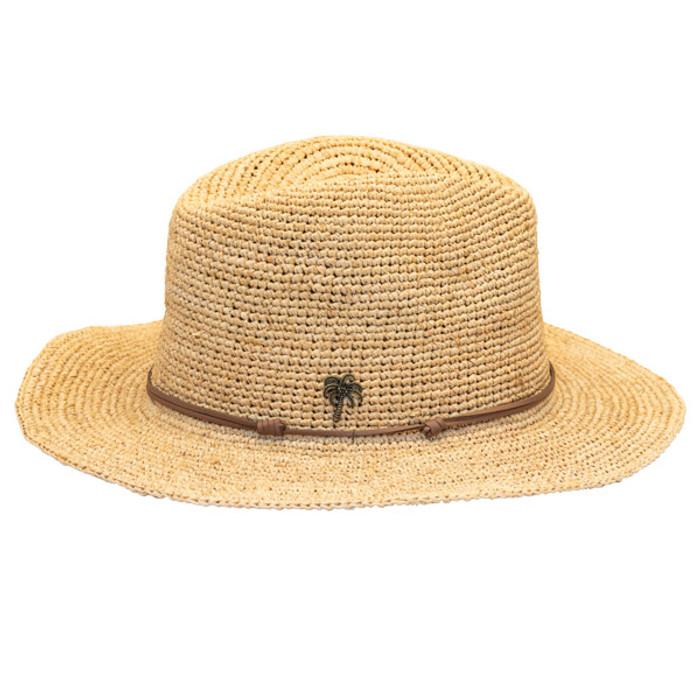 d83adce3 Sun 'N' Sand | Raffia Wide Brim Fedora Hat | Hats Unlimited