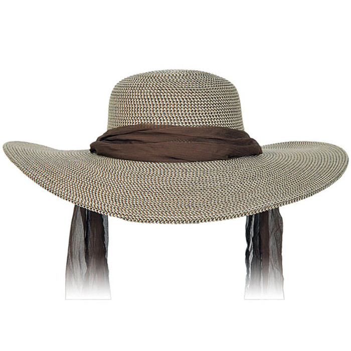 e8fcd535 Karen Keith | Wide Brim Designer Resort Hat With Tie | Hats Unlimited