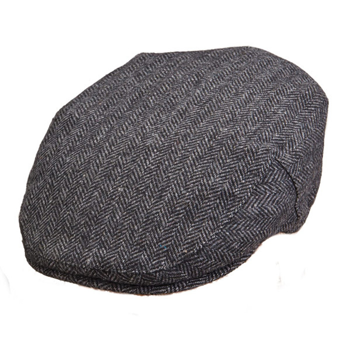 22514b753bd Stetson - Herringbone Ivy Cap in Grey - Full View