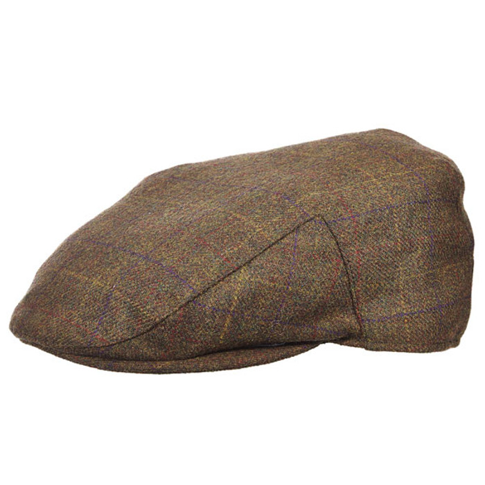 c146082c1 Stetson - Plaid Wool Blend Ivy Cap