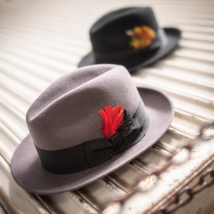 0b1f3cb1191ee3 Stetson | Wool Felt Frederick Fedora| Hats Unlimited