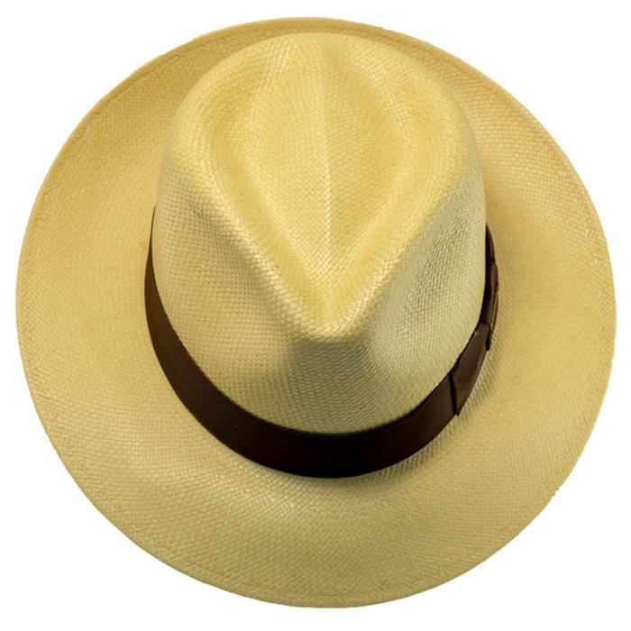 8aae6c3a159 Stetson - Adventurer Straw Hat in Butterscotch - Top