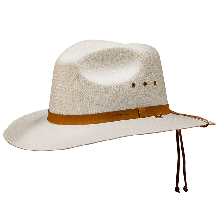 7160d9c19e6 Stetson - Los Alamos Outback Straw Hat - Front