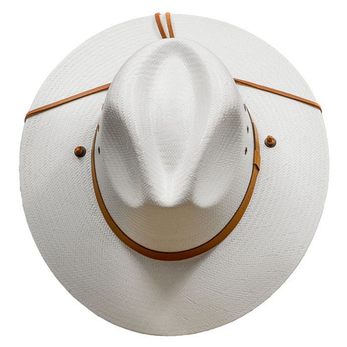 a37bae3b029 Stetson - Los Alamos Outback Straw Hat - Top