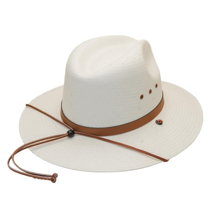 Stetson - Los Alamos Outback Straw Hat - Back ba1ae7552da