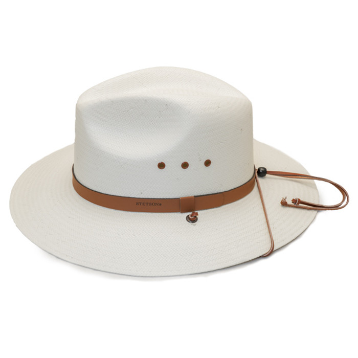 292981efe39 Stetson - Los Alamos Outback Straw Hat - Side