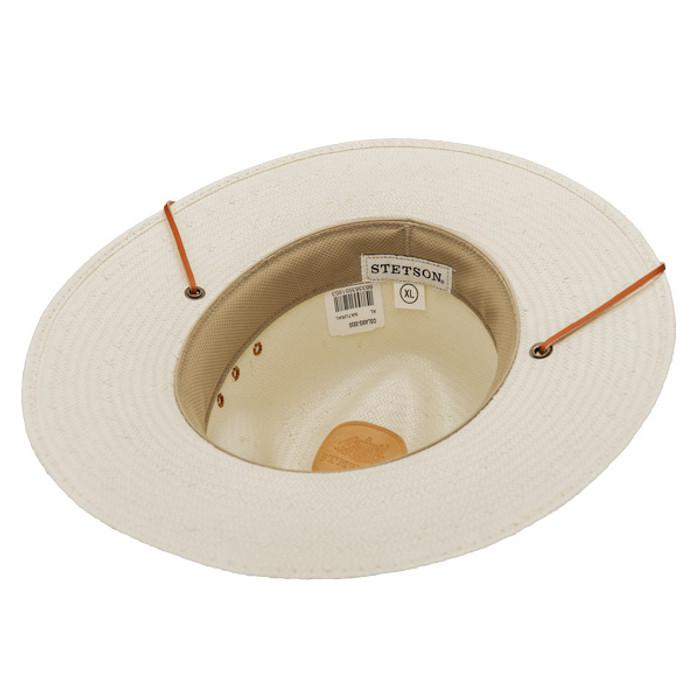 ccead7521e0 Stetson - Los Alamos Outback Straw Hat - Bottom