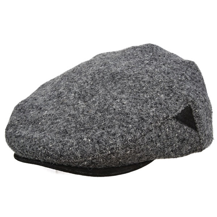 Stetson - Authentic Italian Wool Ivy Cap in Grey - Full View e187c4ec47d