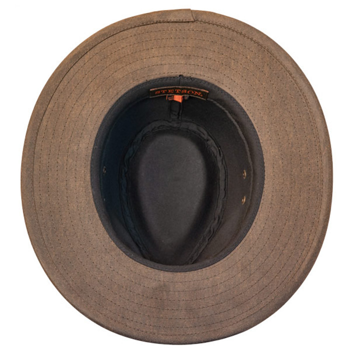 1867251e9fe Stetson - Distressed Outdoor Boonie Hat - bottom