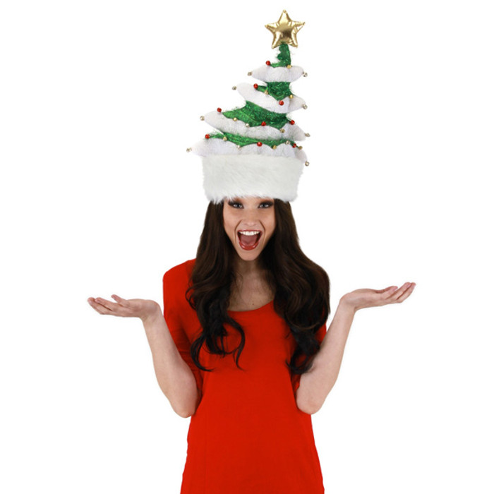 58ad64edfbab1 Elope Hats. Elope - Springy Tree Christmas Hat