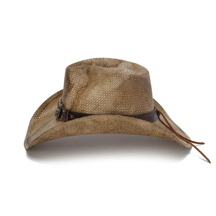 Stampede Hats - Rustic Longhorn Cowboy Hat - Side 0bbc35c5770b