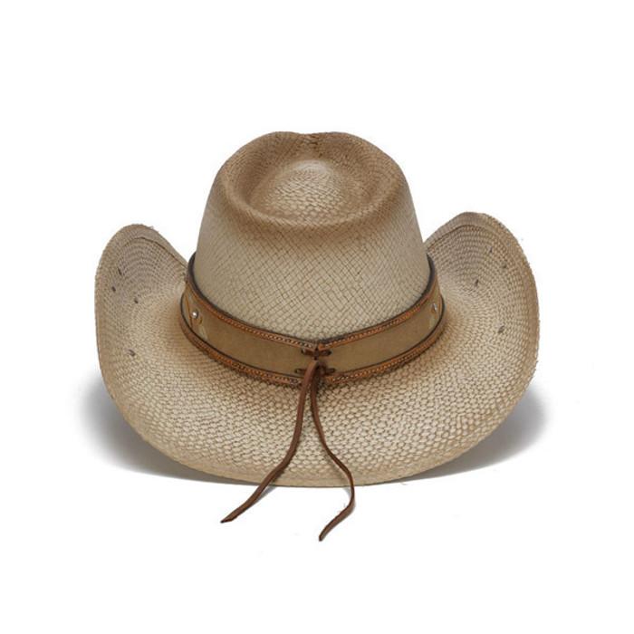 73debb18b Stampede Hats - Beige Western Hat with Hibiscus Flower and Floral Filigree