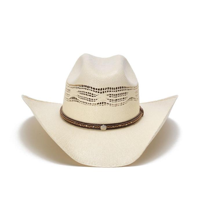 2c562e579fe Stampede Hats - 50X Bangora Mini Concho Cowboy Hat - Front