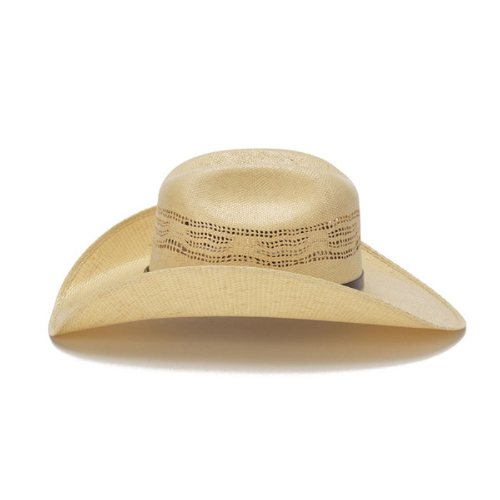 848763aac Stampede Hats - Beige 50X Bangora Cowboy Hat with Scalloped Leather Trim