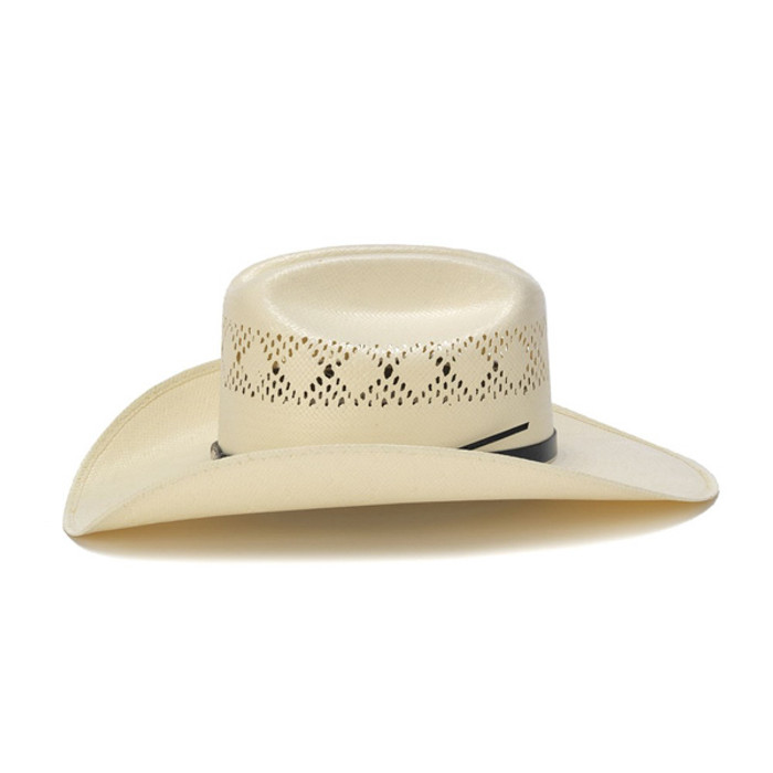 4b8da7a4137 50X Shantung Cowboy Hat with Mini Conchos - Side